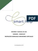 SHS - Manual Respaldos Manuales Vmware - Xsibackup - Generico
