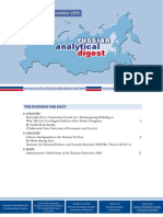 Russian Analytical Digest 230