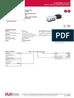 971000 Series NAMUR Solenoid Valve