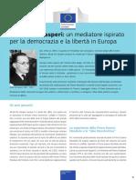 6. Alcide de Gasperi - Un Mediatore Ispirato