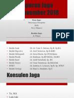 Laporan Jaga 17nov18