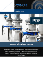 Allvalves Price List 2016-2017 Butterfly Valves