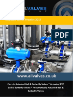 Allvalves Price List 2017 Actuated Valves Rev3