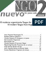 Tango Nuevo for Piano Solo 2