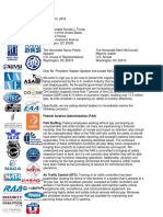 Aviation Shutdown Impacts Ltr FINAL 01.10.19