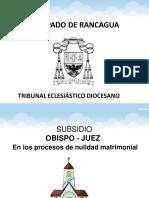 Subsidio Obispo Juez