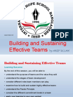 01. Building and Sustaining Effective Teams