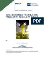 Guide Bonne Pratique Huile Olive AAI