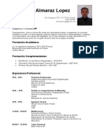 Curriculum Vitae Sergi Almaraz Lopez