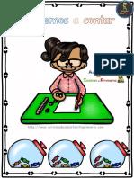 Ejercicios de Matemáticas Conteo Sumas Restas Primero Primaria PDF