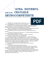 1.Imunitatea Sistemul Imun-Cel.munocompetente
