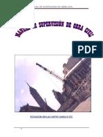 Manual de Supervisión de Obra Civil