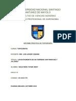 Informe de Topo- 01 Medicion de Distacias