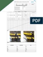 Registro de Inspeccion de Soldadura HDPE