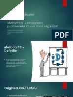Calitatea Fabricatiei - Metoda 8D