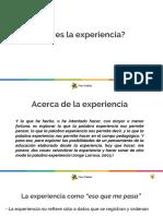 Acerca de la experiencia.ppsx