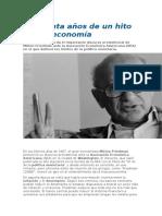 Verdadera Relación Entre Inflación y Desempleo