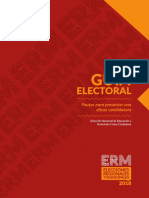 Guia Electoral JNE (ERM 2018)