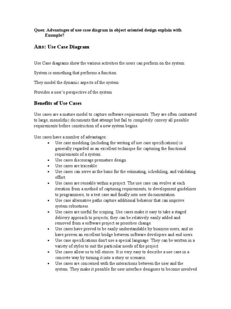 Benefits of use cases use case inheritance object oriented benefits of use cases use case inheritance object oriented programming ccuart Gallery