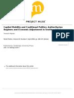 Pepinsky - 2008 - Capital Mobility and Coalitional Politics Authority