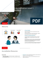 Oracle Support L1 Accreditation Study Guide
