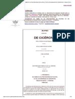 Cicéron Fragments Du Timée Et Du Protagoras de Platon, Et de l'Économique de Xénophon, Traduits Par m. t. Cicéron. (Bilingue)