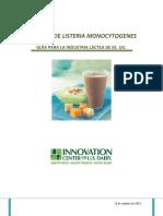 Control de Listeria Monocytogenes Guia Para La Industria Lactea de EE U