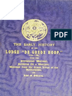 Bate O H - The Early History of the Lodge de Goede Hoop 1772-1781 - 1908
