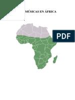 La Música en África ALUMNOS