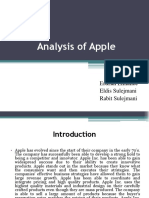 Analysis of Apple