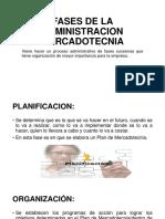 Fases de La Administracion Mercadotecnia