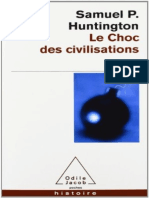 Le Choc Des Civilisations - Samuel Huntington