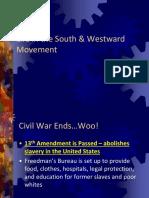 west and gilded age - website slides
