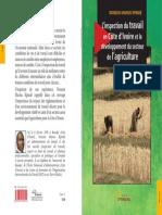 L'inspection du travail en Côte d'Ivoire et le dévéloppement du secteur de l'agriculture