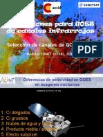 Aplicacion Para Goes Modulo COMET UCAR 2012
