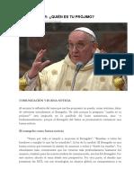 Bergoglio - Comunicador Quien Es Tu Prójimo