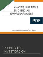 CÓMO HACER UNA TESIS EN CIENCIAS EMPRESARIALES.pptx