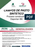 Proceso Constructivo Deportan Pasto