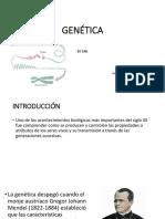 1.1 Introducción Genética 2018