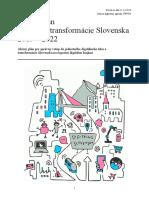 Akčný plán digitálnej transformácie Slovenska