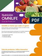 Guia Productos Nutricion Omnilife
