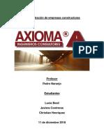 Administracion de Empresas Constructoras Axioma