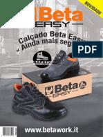 Folheto Calçado Beta Easy 2018