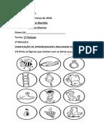 1ºPeriodo- Linguagem Oral e Escrita