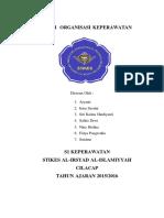 Institusi Organisasi Keperawatan