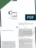 Renato Rosaldo- Cultura y Verdad, Subjetividad en El Análisis Social