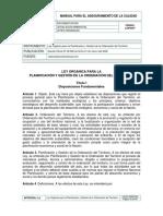 Ley Organica Gestion Del Territorio 2006