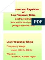 Low Frequency Noise