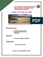 Exposicion 7 Ley de Cut Off