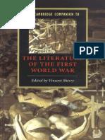Literature of World War I